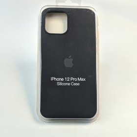 Чехол для iPhone 12 Pro Max - Full Soft Silicone Case (Black)