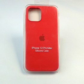 Чехол для iPhone 12 / 12 Pro - Full Soft Silicone Case (Product) Red)