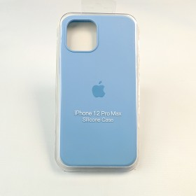 Чехол для iPhone 12 Pro Max - Full Soft Silicone Case (Cornflower)