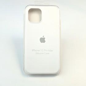 Чехол для iPhone 12 Pro Max - Full Soft Silicone Case (White)