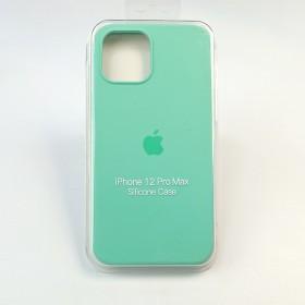 Чехол для iPhone 12 Pro Max - Full Soft Silicone Case (Spearmint)