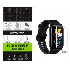 Защитная пленка гидрогель для Huawei Watch Fit - Happy Mobile 3D Curved TPU Film (6шт.) (Devia Korea TOP Hydrogel Material)