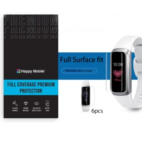 Защитная пленка гидрогель для Samsung Galaxy Fit 2 Pro - Happy Mobile 3D Curved TPU Film (6шт.) (Devia Korea TOP Hydrogel Material)