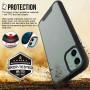 Чехол-накладка TT Silk Case Series для iPhone 11 (Черный)