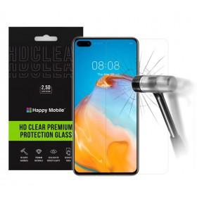 Защитное стекло для Huawei P40 - Happy Mobile Ultra Glass Premium 0.26mm,2.5D,Clear (Japan Toyo Glue)