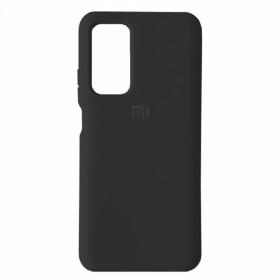 Чехол Silicone Cover FULL for Xiaomi Mi 10T / Mi10T Pro (Original Soft Case Black)