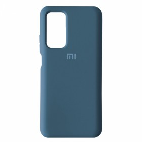 Чехол Silicone Cover FULL for Xiaomi Mi 10T / Mi10T Pro (Original Soft Case Navy Blue)
