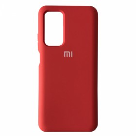 Чехол Silicone Cover FULL for Xiaomi Poco M3 (Original Soft Case Red)