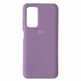 Чехол Silicone Cover FULL for Xiaomi Mi 10T / Mi10T Pro (Original Soft Case Lilac)