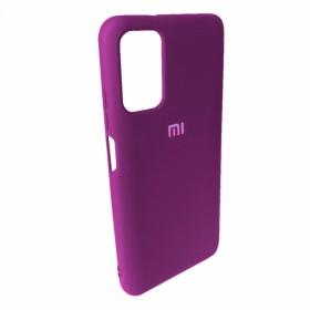 Чехол Silicone Cover FULL for Xiaomi Poco M3 (Original Soft Case Grape)