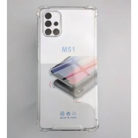 Защитный чехол для для Samsung Galaxy M51 - Anti-Drop Air Pillow Series, 1.5mm TPU (Clear)