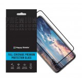 Защитное стекло 5D Happy Mobile Silk Printing HQ Poco F3 / F2 Pro (Hot Bending Ultra Thin (0.25mm) Entire View, Черное)