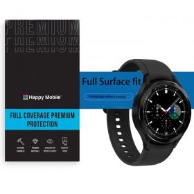 Защитная пленка гидрогель для Samsung Galaxy Watch 4 Classic - Happy Mobile 3D Curved TPU Film (6шт.) (Devia Korea TOP Hydrogel Material)