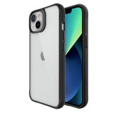 Чехол-накладка TT Carbon Fiber Case Series для iPhone 13 (Clear)