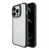 Чехол-накладка TT Carbon Fiber Case Series для iPhone 13 Pro Max (Clear)