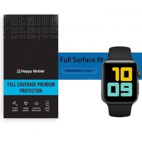 Защитная пленка гидрогель для Apple Watch Series 7 45mm - Happy Mobile 3D Curved TPU Film (6шт.) (Devia Korea TOP Hydrogel Material)