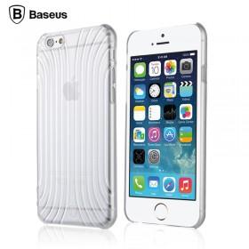 3D чехол Baseus Shell для iPhone 6 (Прозрачный/Белый)