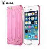 3D чехол Baseus Shell для iPhone 6 (Прозрачный/Розовый)