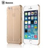 3D чехол Baseus Shell для iPhone 6 (Прозрачный/Золото)