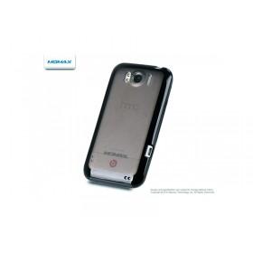 Чехол 2в1 Momax для HTC Sensation XL (X315E) - black + защитная плёнка