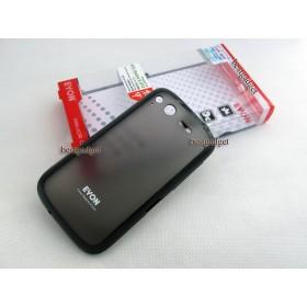 Чехол для HTC Desire S (Saga) (2в1 Eyon black) + защитная плёнка