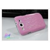 Чехол Nillkin Dynamic Color для Samsung i9300 Galaxy S 3 (pink) / Neo i9301i  + защитная плёнка