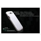 Чехол Nillkin Mysterious Shadow для Samsung i9300 Galaxy S 3 / Neo i9301i  (white wave) + защитная плёнка