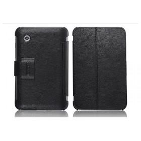 Кожаный чехол для Samsung p3100 / p3110 Galaxy Tab 2 7.0 (IcareR Black)