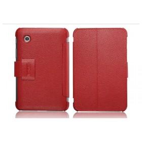 Кожаный чехол для Samsung p3100 / p3110 Galaxy Tab 2 7.0 (IcareR Red)