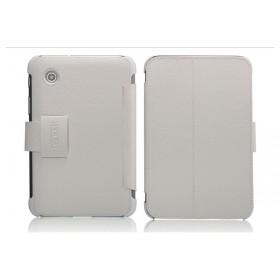 Кожаный чехол для Samsung p3100 / p3110 Galaxy Tab 2 7.0 (IcareR White)