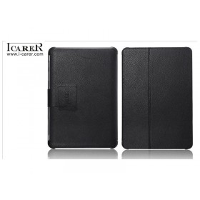 Кожаный чехол для Samsung p5100 / p5110 Galaxy Tab 2 10.1 (IсareR Black)
