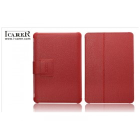 Кожаный чехол для Samsung p5100 / p5110 Galaxy Tab 2 10.1 (IсareR Red)