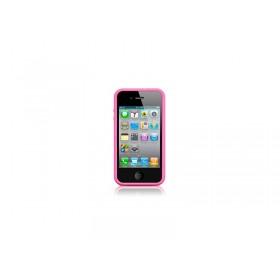 Оригинальный чехол бампер для Apple IPhone 4 (MC669 pink)