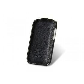 Премиум чехол Melkco для HTC Desire C (A320e) (Jacka black LC)