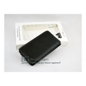 Премиум чехол Melkco для Nokia X7 (Black LC)