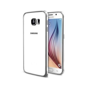 Бампер Baseus Beauty arc для Samsung Galaxy S6 (Серебро)