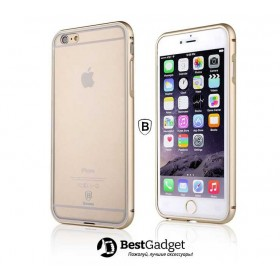 Бампер Baseus Crystal для iPhone 6 (Gold)