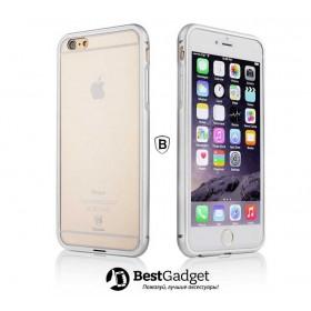 Бампер Baseus Crystal для iPhone 6 (Silver)