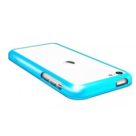 Бампер Pinlo United для iPhone 5c (Aluminum Blue) + пленка