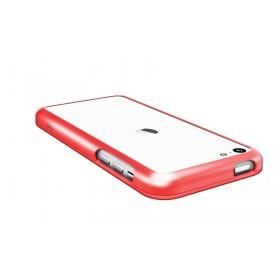 Бампер Pinlo United для iPhone 5c (Aluminum Red) + пленка
