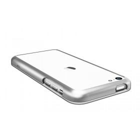 Бампер Pinlo United для iPhone 5c (Aluminum Silver) + пленка