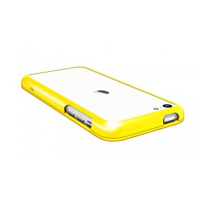Бампер Pinlo United для iPhone 5c (Aluminum Yellow) + пленка