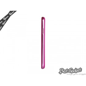 Бампер Pinlo United для Samsung i9500 Galaxy S4 (Pink/Purple)