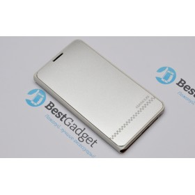 BASEUS! Чехол серии Noble business leather для Samsung Galaxy Note 3 N9000 (Серебристый)