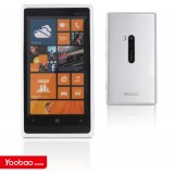 Чехол 2в1 для Nokia Lumia 920 (Yoobao white) + защитная плёнка