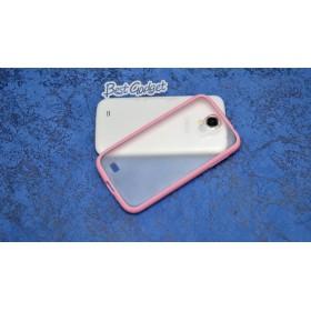 Чехол 2в1 для Samsung i9500 Galaxy S4 (pink)
