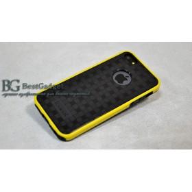 Чехол 2в1 IcareR для iPhone 5 / 5s / SE (Double Dream Color) *Yellow