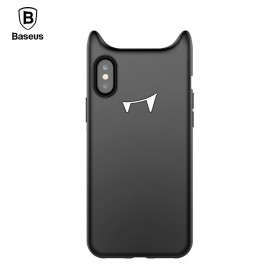 Чехол Baseus Davil Baby для iPhone X (Silicone Black)