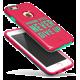 Чехол Baseus Fashion style для iPhone 6 / 6S (Pink/Marine green)