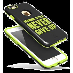 Чехол Baseus Fashion style для iPhone 6 Plus / 6S Plus (Black/Fluorescent green)